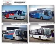 Нерегулярні пасажирські перевезення Львів - Прокат автобуса - Оренда
