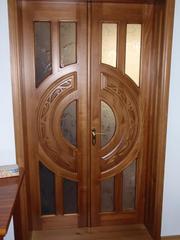 Соснові двері під замовлення