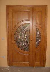 Виготовлення дверей з масиву дуба,  вільхи,  сосни