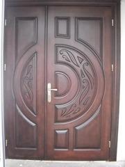 Дерев'яні двері з масиву дуба