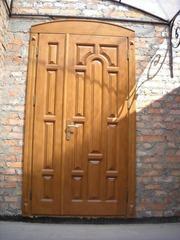 Класичні деревяні міжкімнатні двері