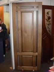 Двері дерев'яні вхідні та міжкімнатні