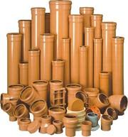 Трубы ПВХ и фитинги для наружной канализации ф110-500 Львов