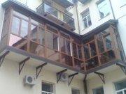 Внутрішнє облаштування балконів,  лоджіїв «під ключ»