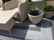 Террасная доска,  декинг Bruggan,  Legro и Mirradex компании Woodplast