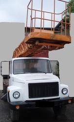 Продаем автогидроподъемник АП-17А,  1997 г. в.,   ГАЗ-3307,  2002 г.в.