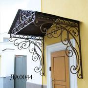 Ковані двері,  решітки на вікна,  ковані дашки і козирьки!