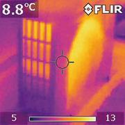 Тепловизионная съемка домов,  квартир