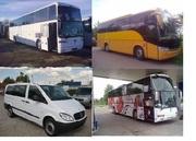 Пассажирские перевозки со Львова автобусами на 8,  20, 39,  50,  55 мест