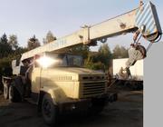 Продаем автокран КС-3575А,  г/п 10 тонн,  на шасси КрАЗ 65101,  1992 г.в.