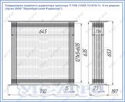 Сердцевина водяного радиатора трактора Т-150 (150У.13.020-1)  5-ти ряд
