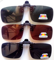 Поляризаційні накладки на окуляри