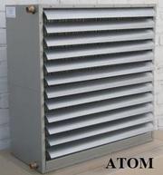 «АТОМ»:водяные тепловентиляторы,  тепловые завесы,  чиллеры,  градирни.