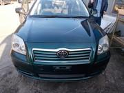 Toyota Avensis капот бампер фара четверть