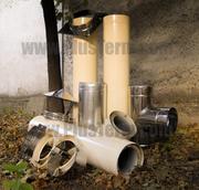 Трубы для дымоходов,  каминов,  булерьянов от производителя ПлюсТерм