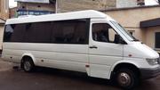 Пасажирські перевезення мікроавтобусом на 21 місце. Замовити бус.