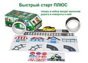 Скотч Дорога Зеленый автобус Быстрый старт Плюс