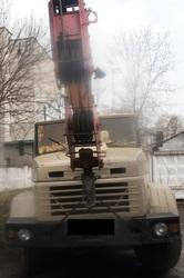 Продаем автокран ДАК КТА-16.01 Силач,  2005 г.в., КрАЗ 65101,  1998 г.в.