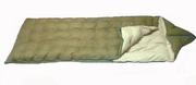 Пуховый спальный мешок на рост до 177 см.