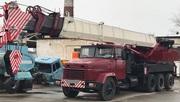 Продаем автокран МКАТ-40 TG-500 ERG,  40 тонн,  1989 г.в.,  КрАЗ 65101,  1993 г.в.
