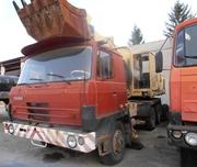 Продаем отделочную машину UDS 114A,  0, 63 м3,  TATRA 815,  1989 г.в.