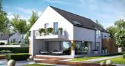 Проект дома от 150 грн/м2. Индивидуальное проектирование домов и котте