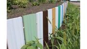 Проліт пластикового паркану