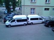 Пассажирские перевозки, трансферы по Украине и Шенгену микроавтобусами.