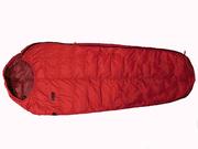 Пуховый спальный мешок кокон на рост до 185 см. Экстрим вариант