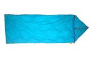 Пуховый спальный мешок одеяло с капюшоном на рост до 170 см.