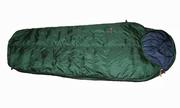 Пуховый спальный мешок кокон на рост до 200 см. Экстрим вариант.