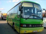 Пасажирські перевезення комфортабельними туристичними автобусами